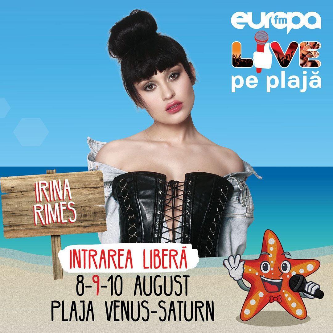 @irinarimes vine #livepeplaja!  @radioeuropafm …