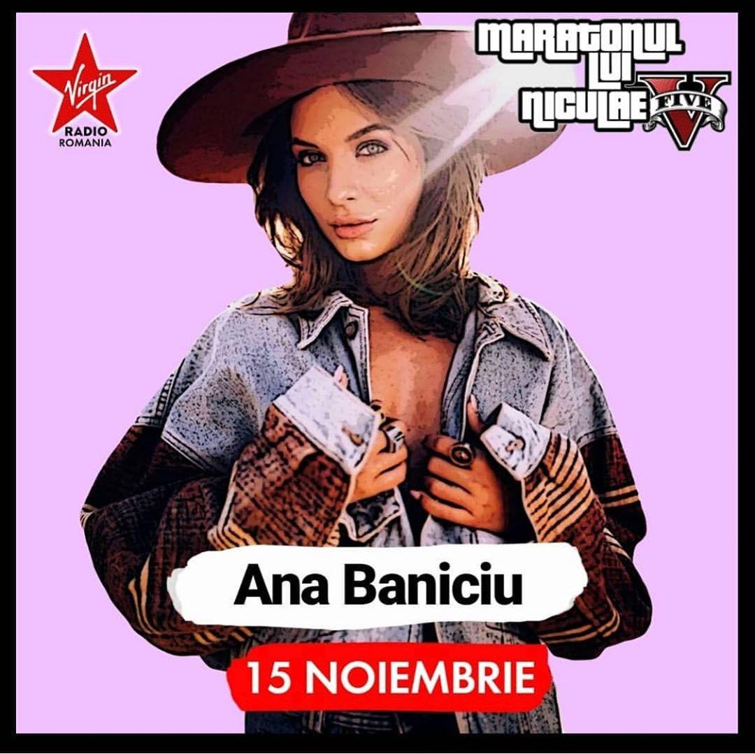 15 noiembrie | @ana_baniciu | #maratonul lui @niculaeandrei  la @virginradioromania …