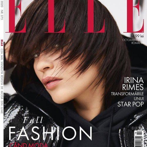 @irinarimes on the new cover of @elleromania @domnicamar @roxanavoloseniuc @alexifi @christiantudose…